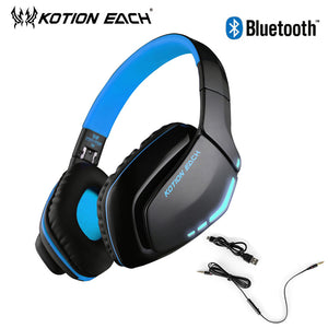 Big Audio Wireless Gaming Headset  With Mic Bluetooth