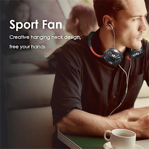 Mini Portable Neck Sports Fan