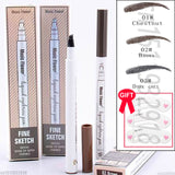WATERPROOF FORK TIP EYEBROW TATTOO PEN - GeetShop | Shop Online with Confidence