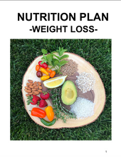 The Weight Loss Nutrition Plan