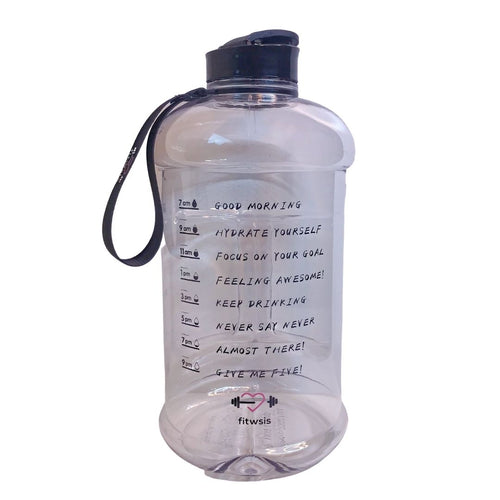 2 Liter Motivational Water Bottle