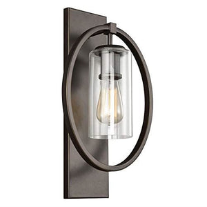 Bronze Katrina Oval Detail Wall Light