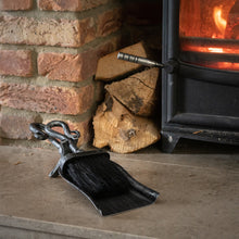 Carlton Manor Brushed Steel Hearth Tidy Set