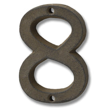 "3.75"" Rustic Cast Iron House Numbers"
