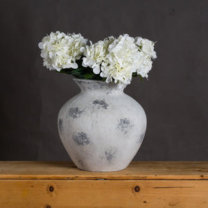Downton Large Antique White Vase