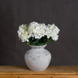Darcy Antique White Vase