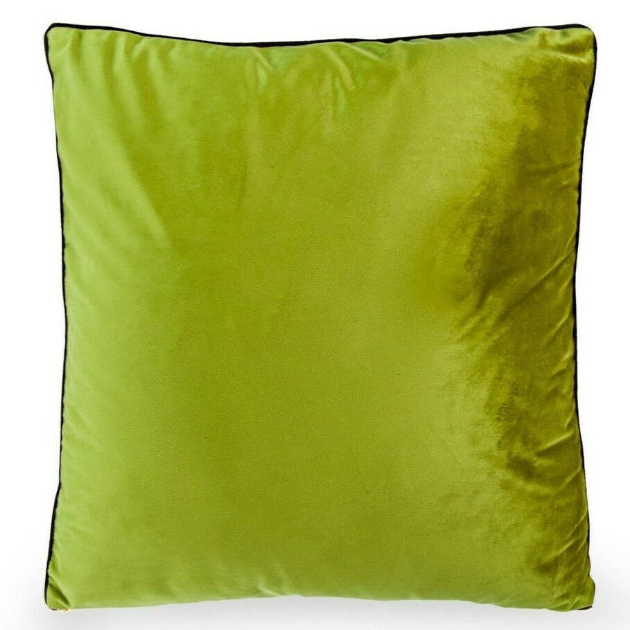 50cm Avocado Velvet Decorative Cushion