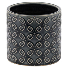Lucena Collection Grey Ceramic Planter