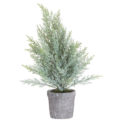 Artificial Potted Christmas Tree