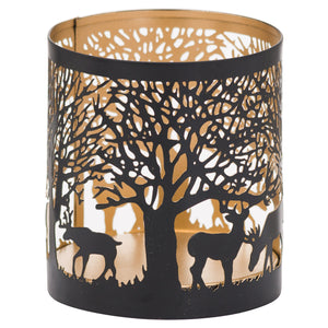 Small Stag in a Forest Glow Lantern