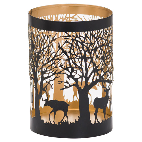 Medium Stag in a Forest Glow Lantern