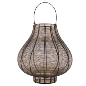 Large Bulbous Wire Glow Lantern