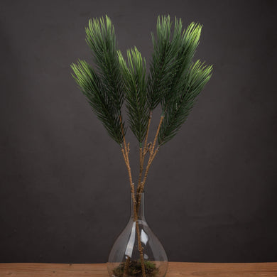 Faux Twin Pine Needle Spray