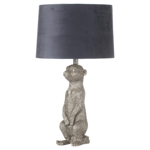 PRE-ORDER Silver Meerkat Table Lamp