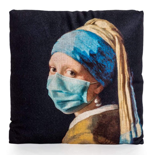 45cm Girl with a Pearl Earring Cushion