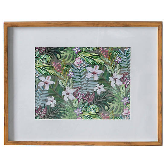 58x73cm Tropical Hibiscus Framed Art