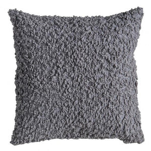Bouclé 55cm Charcoal Grey Cushion