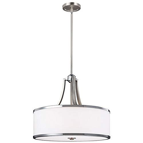 Delicato Satin Nickel 4 Light Pendant
