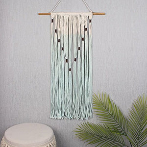 95cm Ombre Cotton/Bamboo Wall Art