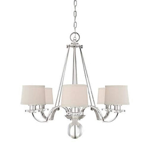 Knightsbridge Collection 6 Light Chandelier