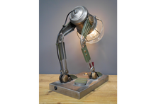 Metal Battery Operated Robot Table Lamp