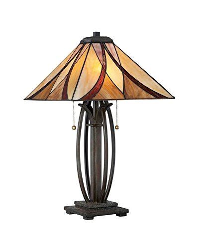 The Cirencester Tiffany Style Table Lamp