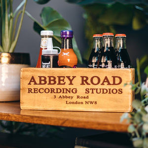 Abbey Road Waxed Wooden Boxes