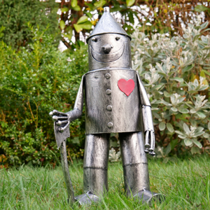 Small Tin Man Sculpture