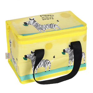 Eco Animals Ziggy Zebra Lunch Bag