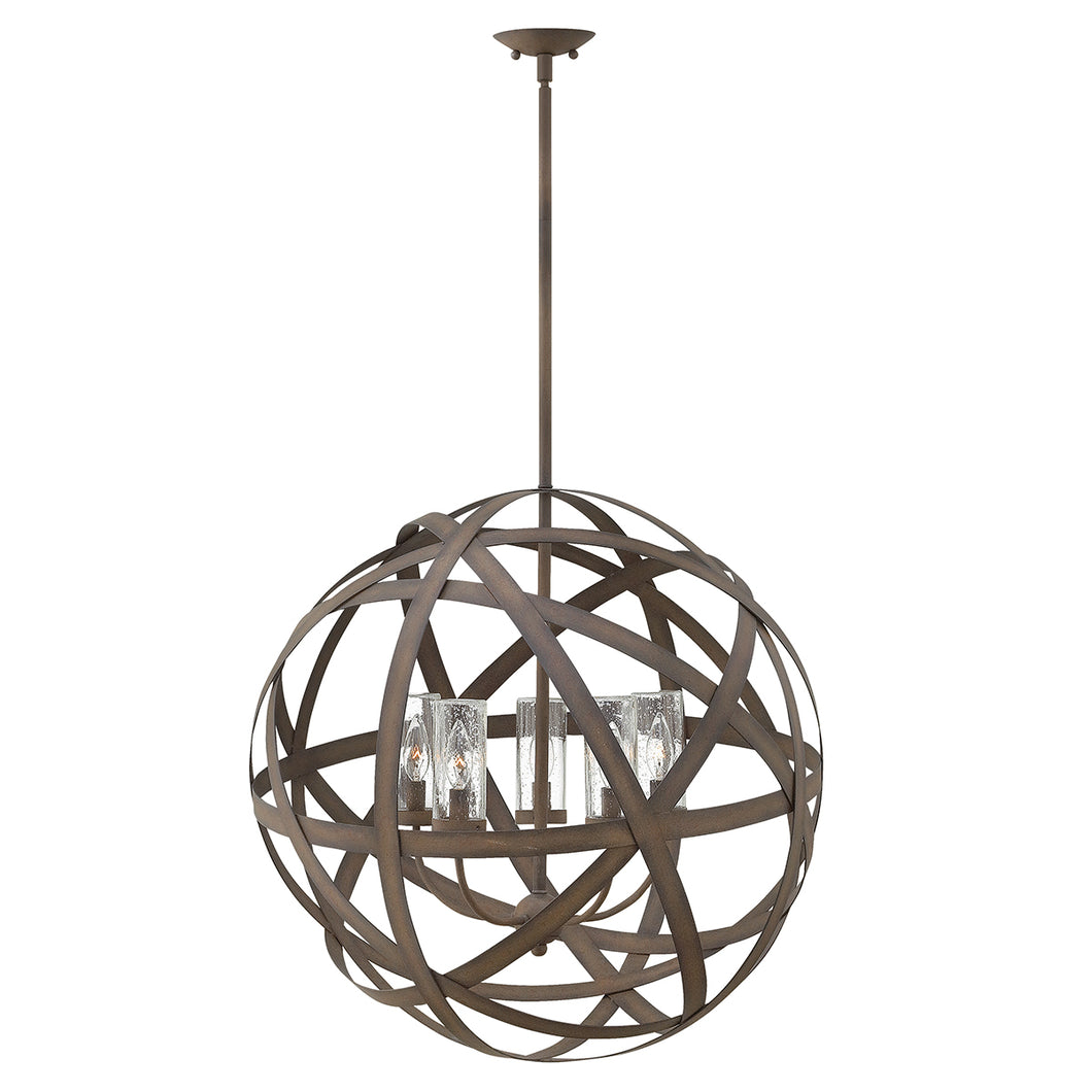 Carmen 5 Light Outdoor Chandelier