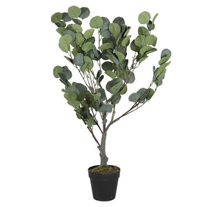 85cm Artificial Potted Eucalyptus Tree