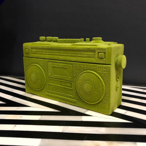 Flock Green Radio Money Box