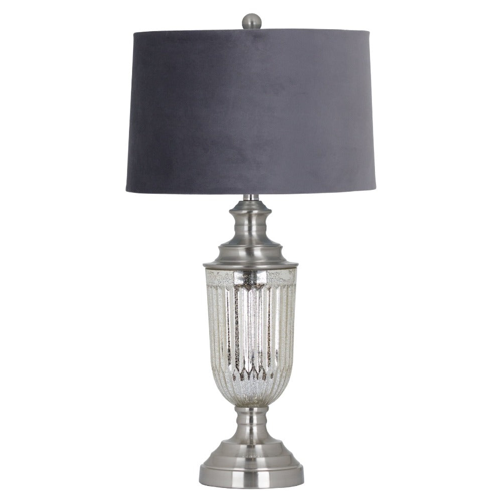 PRE-ORDER 76cm Mercury Glass Table Lamp