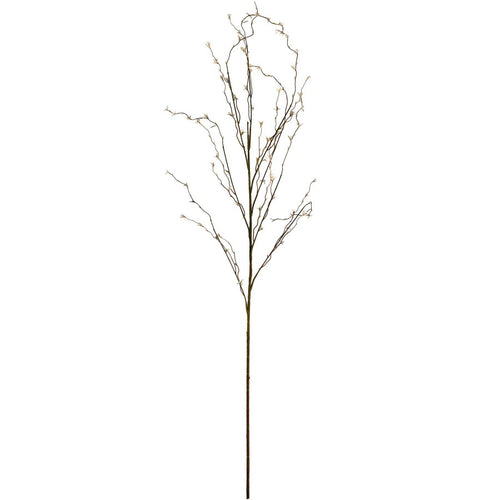 112cm White Willow Spray