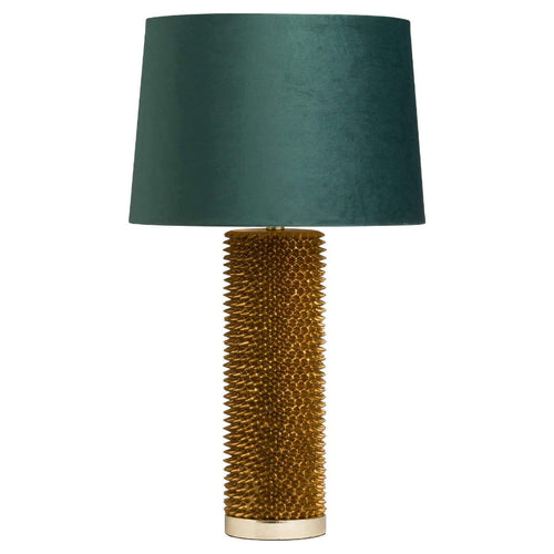 Antique Gold Spiked Table Lamp