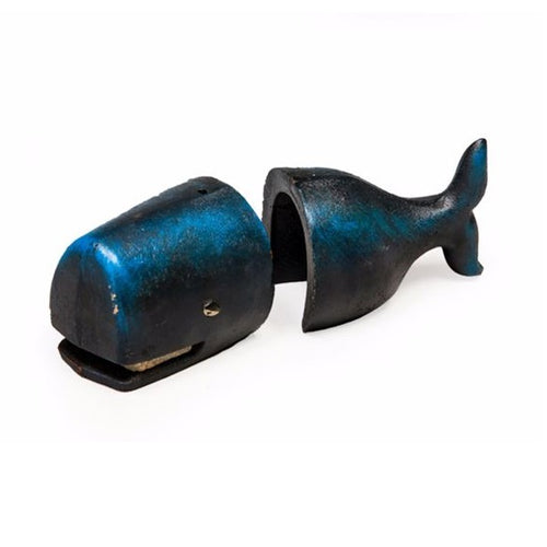 Antique Style Cast Iron Whale Bookends