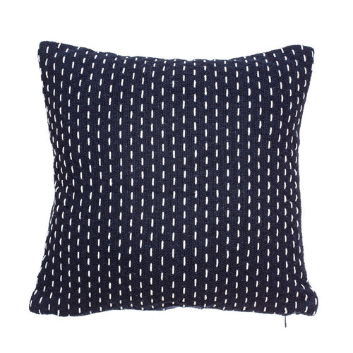 Stitched Blue Cushion