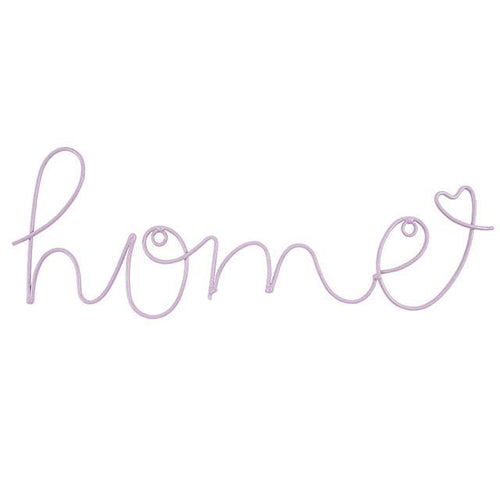 Lilac Home Wire Wall Art