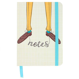 Brogues Notes A6 Notebook