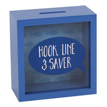 Hook, Line & Saver Shadow Frame Money Box