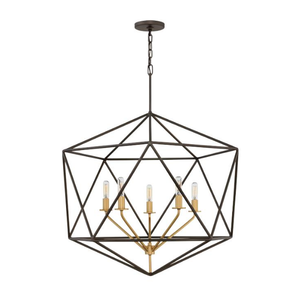 The Davy 5 Light Pendant Chandelier