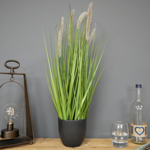 Artificial Potted Foxtail Grass