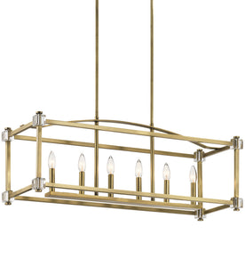 The Dupondii 6 Light Island Chandelier