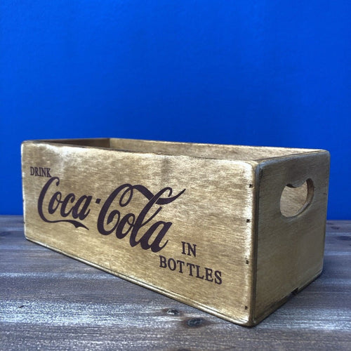 Coca Cola Waxed Wooden Boxes
