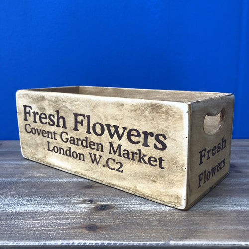 Covent Garden Waxed Wooden Boxes