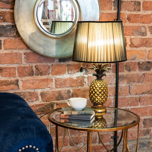 Isla Antique Gold Pineapple Table Lamp