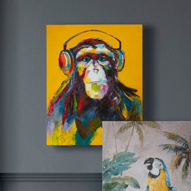 80x100cm Through The Ape Vine Art Canvas