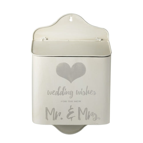Wedding Wishes Wall Hanging Post Box