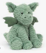 Jellycat, Fuddlewuddle dragon medium