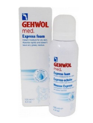 Gehwol, Mousse express hydratante